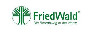 Friedwald Logo mit Claim