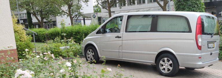 Vito, Ernst-Bestattungen, Leichenwagen